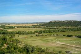 Ausblick vom Turm der Abbaye de Montmajour