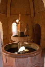 Das Brunnenhaus der Abbaye du Thoronet