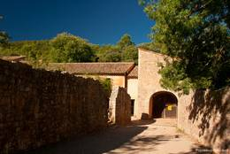 Eingangsbereich der Abbaye du Thoronet