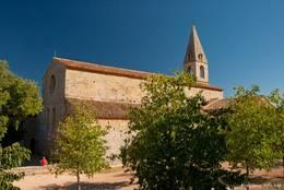 Die Klosterkirche der Abbaye du Thoronet