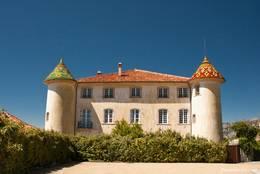 Das Schloss am Rand von Aiguines