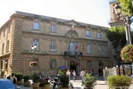 Das Rathaus von Aix-en-Provence