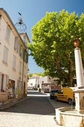 Das Zentrum des Dorfes Allemagne-en-Provence
