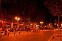 Abends in der Altstadt von Apt