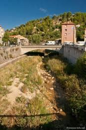 Der Fluss Calavon in Apt