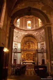 Innenraum der Kathedrale von Apt