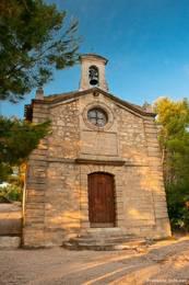 Kapelle Notre Dame de la Garde oberhalb der Altstadt von Apt