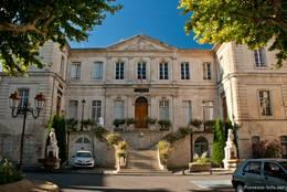 Das Gebäude der Unterpräfektur des Départements Vaucluse in Apt