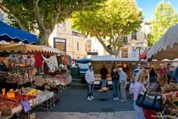 Der provenzalische Markt am Samstag in Apt
