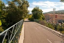 Teil des Radweges rund um den Luberon in Apt