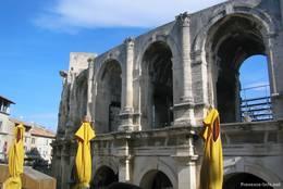 Die antike römische Arena in Arles