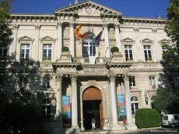 Das Rathaus von Avignon