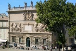 Historische Münzprägeanstalt (L'Hôtel des Monnaies) in Avignon