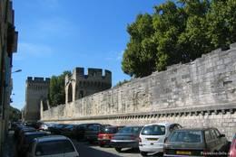 Ein Teil der historische Stadtbefestigung am Rand der Altstadt