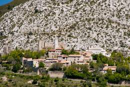 Das kleine Dorf Bargème