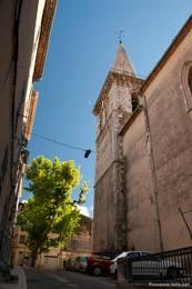 Kirche in der Altstadt von Brignoles