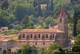 Die Kirche Notre Dame de l'Assomption in Callian