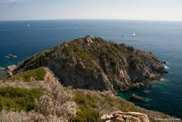 Das Cap Lardier, die Landspitze ist erreicht