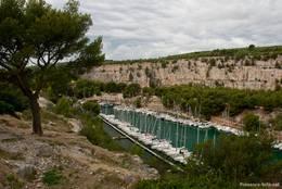 Die Calanque de Port-Miou am Stadtrand von Cassis