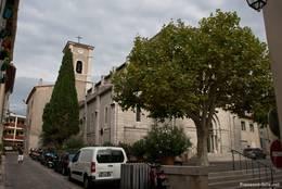 Die Gemeindekirche von Cassis