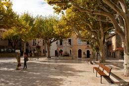 Der Place Baragnon im Stadtzentrum
