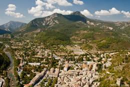 Ausblick über Castellane