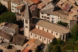 Die Gemeindekirche von Castellane