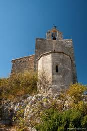 Die kleine Kapelle hoch über Cavaillon