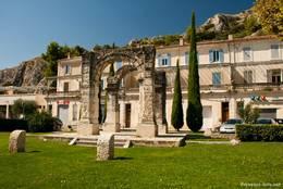 Kleiner römischer Triumphbogen in Cavaillon