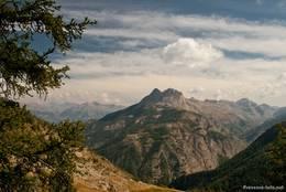 Grandioser Ausblick auf dem Weg hinauf zum Col d'Allos