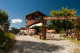 Ein weiteres kleines Hotel und Restaurant auf der Passhöhe des Col de Turini