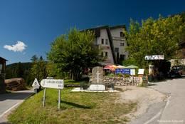 An der Passhöhe des Col de Turini