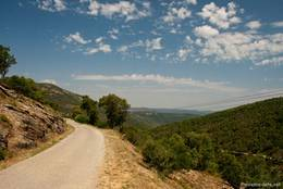 Die Route des Crêtes, die am Col du Canadel startet