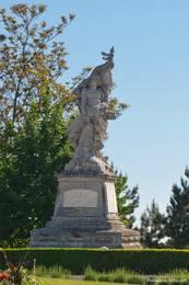 Denkmal bzw. Statue zum Gedenken an den 1. Weltkrieg