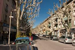 Straße in der Altstadt von Digne-les-Bains