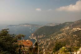 Ausblick von Èze auf die Halbinsel Cap Ferrat