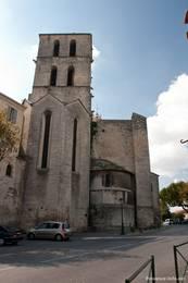Kathedrale Notre-Dame-du-Bourguet in der Altstadt von Forcalquier