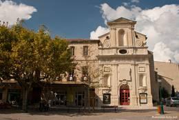 Das Rathaus von Forcalquier am Place du Bourguet