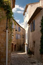 Gasse in der Altstadt von Forcalquier
