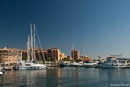 Der Hafen von Fréjus