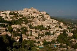 Ausblick auf das Dorf Gordes