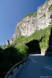 Der untere Teil der Gorges du Cians