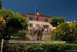 Das Rathaus von Grimaud