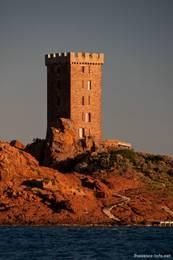 Der Turm der Île d'Or