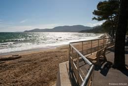 Blick vom Plage de Gigaro Richtung Cavalaire-sur-Mer