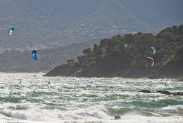 Surfer vor La Croix-Valmer