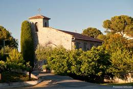 Die kleine Kapelle Saint-Roch am Ortsrand von Le Dramont