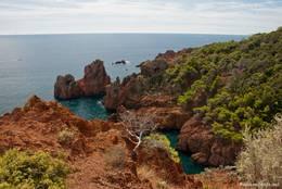 Die Mittelmeerküste bei Le Dramont