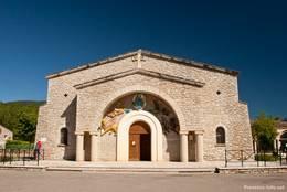 Portal der Kirche von Les Salles-sur-Verdon