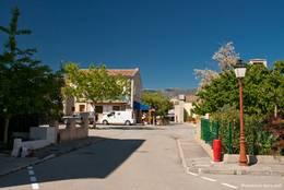 Straße in Les Salles-sur-Verdon